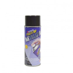 Finition peinture aérosol Plasti Dip métallisée anthracite 400ml