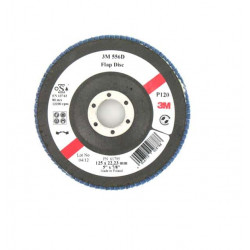 Disque 3M 556D à lamelles bombées grain 120 x 5 125mm