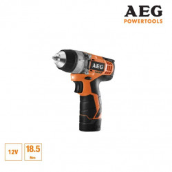 Perceuse visseuse AEG 12V Li-ion - 2 batteries 1.5Ah Pro-Lithium - 1 chargeur 30min - BS12C-152B
