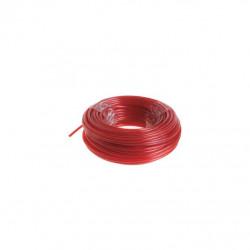Bobine fil rond RYOBI 15m diamètre 2.4mm rouge universel RAC104