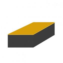 Mousse de protection 1x1m noire adhésive épaisseur 30mm