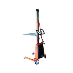 Gerbeur positionneur de travail semi-électrique - Levée 150 cm - 150 kg
