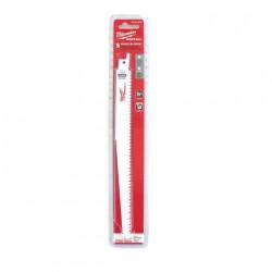 Pack de 5 lames de scie sabre bi-metal/co 230 mm MILWAUKEE SAWZALL 6 TPI 48005016