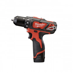 Perceuse visseuse MILWAUKEE M12 BDD-202C 12V - 2 batteries 12V Li-Ion 2.0Ah - 1 chargeur 4933441915