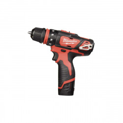 Perceuse visseuse MILWAUKEE M12 BDDX-202X - 2 batteries 12V Li-Ion 2.0Ah - 1 chargeur 4933447136