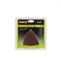 Kit 10 triangles abrasifs Ryobi multitool OnePlus RAK10MT