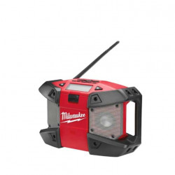 Radio de chantier Milwaukee sans batterie C12 JSR 0 12V 4933416365
