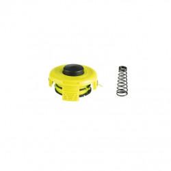 Bobine double fil RYOBI diamètre 1.2mm couvercle et ressort RAC118