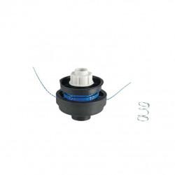 Tête complète RYOBI double fil diamètre 1.5mm pour coupe-bordures RAC120