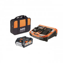 Chargeur rapide multi-plateformes AEG 18V Li-ion - 1 batterie 5.0Ah - SETL1850BLK