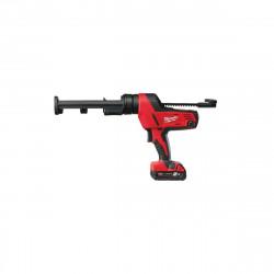 Pistolet à colle 310 ml MILWAUKEE C18 PCG 310C-201B - 1 batterie 18V 2.0 Ah - 1 chargeur M12-18C 4933441310