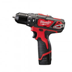 Perceuse percussion MILWAUKEE M12 BPD-202X - 2 batteries 12V 2.0Ah - 1 chargeur C12C 4933446045