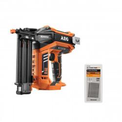 Pack cloueur de finition brushless AEG 18V B18N18-0 - recharge 2000 pointes PRECISEFIT 18G 50mm PWF518GN50 - sans batterie ni chargeur