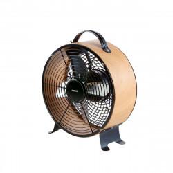 Ventilateur de sol DOMO bois look - diamètre 26cm DO8145