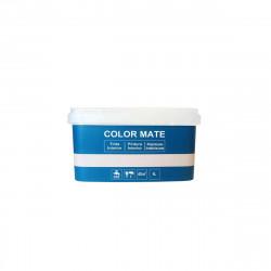 Peinture décorative color mate - Bleu - 4L