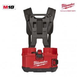 Pulvérisateur à dos MILWAUKEE M18 BPFPH-401 - 1 batterie 18V 4.0 Ah - 1 Chargeur - harnais 4933464962