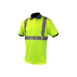 Polo haute visibilité COVERGUARD - jaune fluo - Taille L