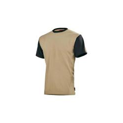 T-shirt homme LAFONT - Beige-Noir - 2XL