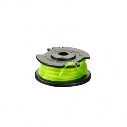 Bobine simple fil torsadé et couvercle RYOBI 2mm pour coupe-bordures sur batterie RAC142