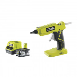 Pack RYOBI pistolet à colle 18V OnePlus R18GLU-O - 1 batterie 4.0Ah - 1 chargeur rapide 2.0Ah RC18120-140