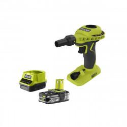 Pack gonfleur RYOBI 18V One Plus R18VI-0 - 1 batterie 2.5Ah LithiumPlus - chargeur rapide 2.0Ah RC18120-125
