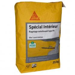 Ragréage autolissant pour sols intérieurs SIKA Level Intérieur - Gris - 25kg