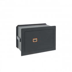 Coffre-fort à emmurer ARREGUI combinaison à clé Plus C - 181310 - 210x320x220mm