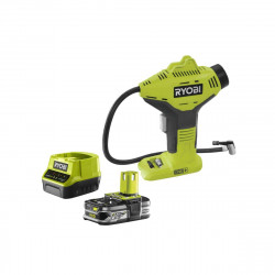 Pack compresseur RYOBI 18V One Plus R18PI-0 - 1 batterie 2.5Ah LithiumPlus - chargeur rapide 2.0Ah RC18120-125