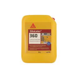 Additif pour mortiers et bétons tout en un prêt à l'emploi - SIKA SikaLatex 360 - Blanc - 5L