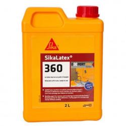 Additif pour mortiers et bétons tout en un prêt à l'emploi - SIKA SikaLatex 360 - Blanc - 2L