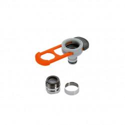 Adaptateur pour robinet d'intérieur avec clé de montage intégrée GARDENA - 8187-20