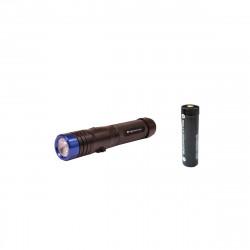Pack NIGHTSEARCHER Lampe de poche navigator 620 lumens - Batterie rechargeable ritestar 18650