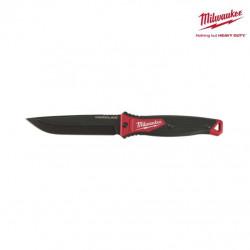 Couteau Hardline MILWAUKEE - lame fixe AUS-8 de 125 mm 4932464830