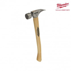 Marteau titane avec manche en bois MILWAUKEE - TI 14MC-H18 4932352583