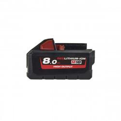 Batterie MILWAUKEE M18 HB8 RedLithium-Ion 18V 8.0Ah 4932471070