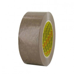 Ruban adhésif PVC 3M havane 50mm x 100m