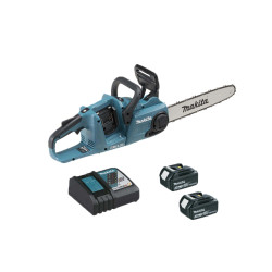 Tronçonneuse brushless MAKITA 36V - 2 batteries 3.0Ah 18V - 1 chargeur DC18RC DUC353RF2