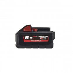 Batterie MILWAUKEE M18 HB55 RedLithium-Ion 18V 5.5Ah 4932464712