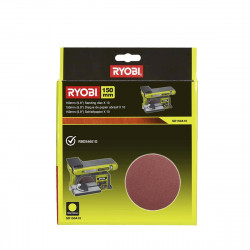 10 disques diamant RYOBI auto agrippants 150 mm - grain 80 SD150A10