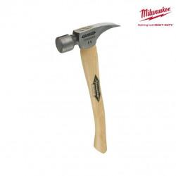 Marteau titane avec manche en bois MILWAUKEE - Ti14MC-H16 4932352585