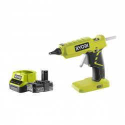Pack RYOBI pistolet à colle 18V OnePlus R18GLU-0 - 1 batterie 2.0Ah - 1 chargeur rapide 2.0Ah RC18120-120