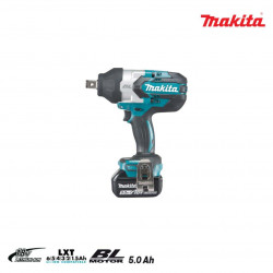 Boulonneuse à chocs brushless MAKITA 18V - 2 batteries BL1850B 5.0Ah - 1 chargeur rapide DC18RC DTW1001RTJ