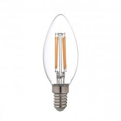 Ampoule LED Filament XXCELL Flamme clair - E14 équivalent 40W