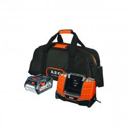Pack batterie AEG 18V Li-Ion 4.0Ah et chargeur SET L1840BL