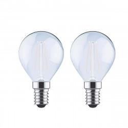 Ampoule LED Filament XXCELL Sphère Dépolie - E14 équivalent 40W x2