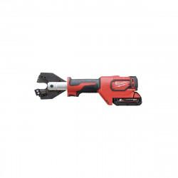 Coupe câble hydraulique MILWAUKEE ForceLogic M18 ONEHCC-201C ACSR SET - 1 batterie 18V 2,0Ah - chargeur 4933464304
