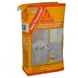 Mortier de ragréage, débullage et lissage ultra fin - SIKA Viscorep - Gris clair - 20kg