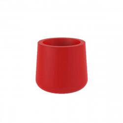 Pot VONDOM Modèle ULM - Rouge mat - 34cm