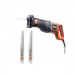 Pack AEG scie sabre électrique AEG 1300W 30mm US1300XE - jeu de 2 lames scie sabre 4.0x150mm