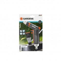 Kit GARDENA Pistolet de nettoyage - Raccord aquastop Premium - 18306-20